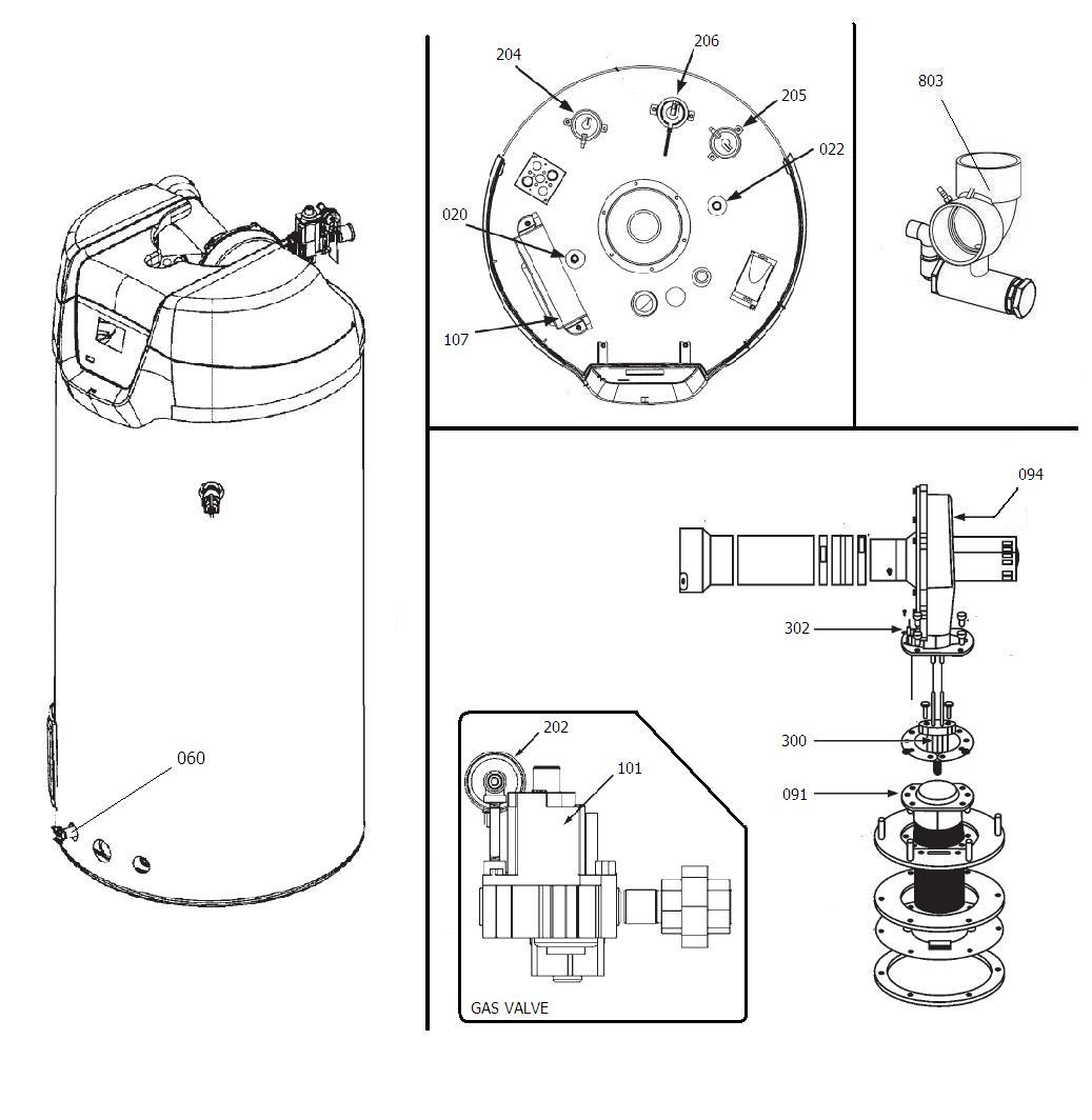 A.O. Smith 9005989205 Hot Surface Ignitor