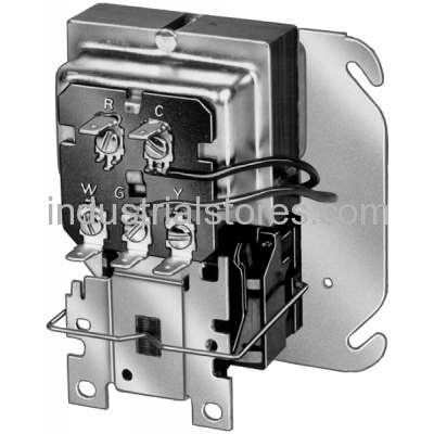 Honeywell R8285B1053 120/208/240V Tradeline Dpdt (Power Poles) Consists Of 40Va Transformer