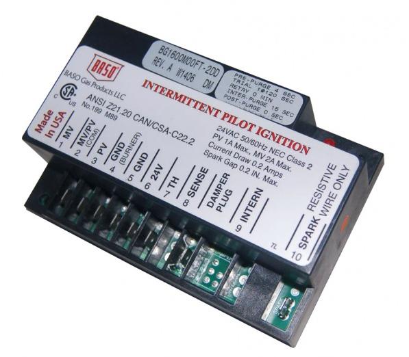 Baso BG1600M02CR-1ADC Intermittent