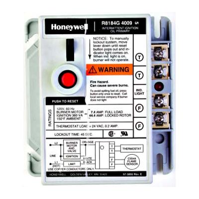 Honeywell R8184G4082 Protectorelay Oil Burner Control