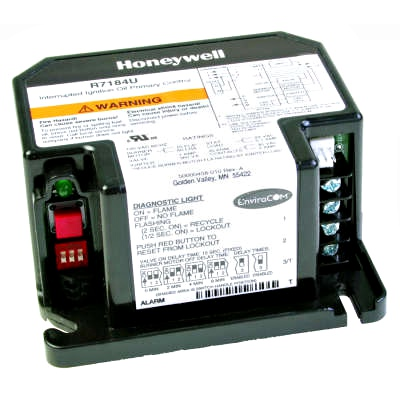 Honeywell R7184U1012 Electronic Oil Primary with 30 sec. Lock Out