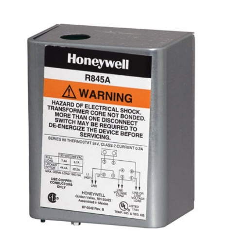 Honeywell R845A1030 DPST Line Voltage Switching Relay