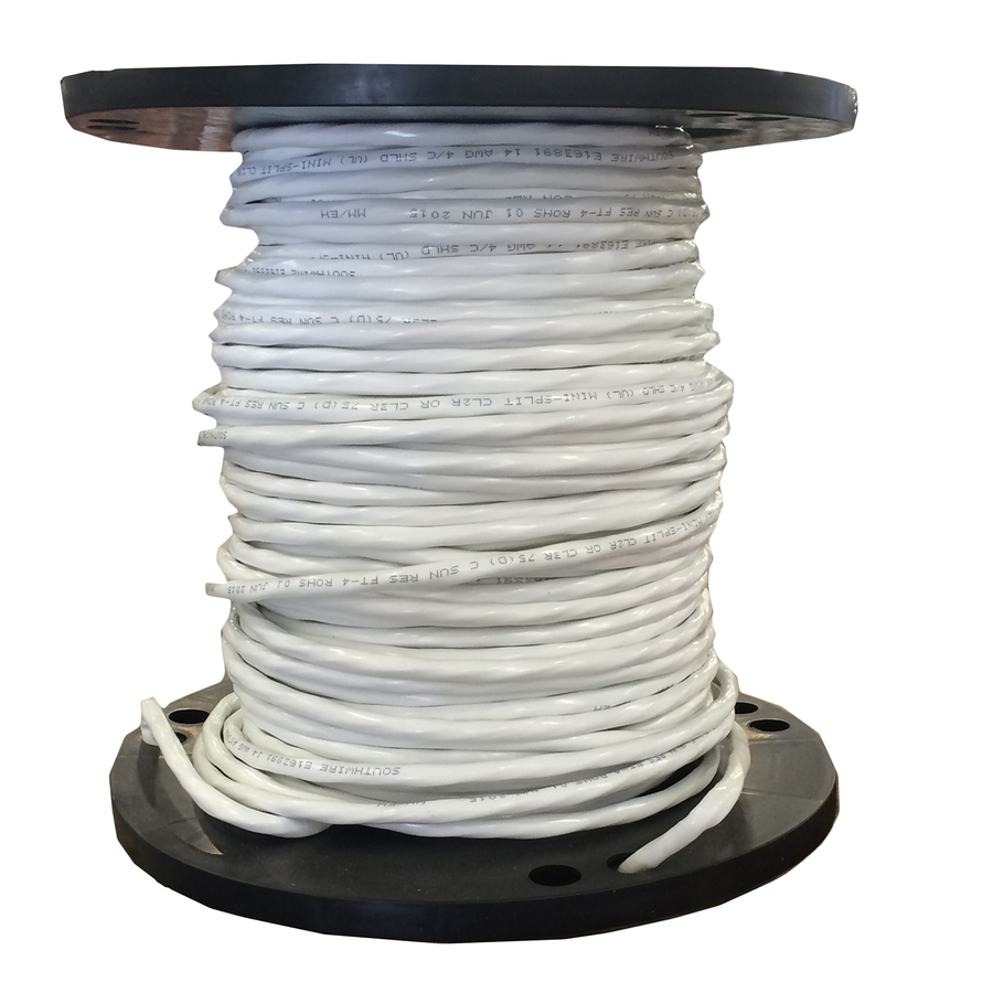 White Silicone Ignition Cable, 100 Foot Roll