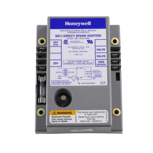 Honeywell S87J1034 Direct Spark Ignition Module 24V
