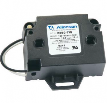 Allanson 2260-TW Transformer Bottom Exit Pigtail