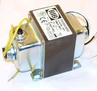 Barber Colman (Schneider Electric) T-202 Transformer 120 V Primary 24 V Secondary 85 VA