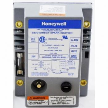 Honeywell S87D1020 Dual Rod Direct Spark Ignition Control 4-Second Trial and Lockout